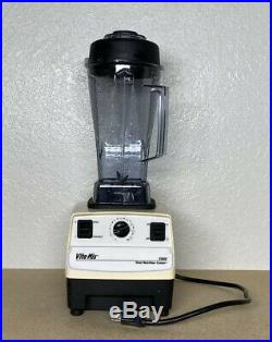 Vitamix 5000 Total Nutrition Center Variable Speed 1 Dry Container Pitcher withLid