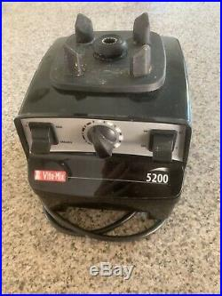 Vitamix 5200 Model VM0103 Black Variable Speed Blender 64oz Pitcher
