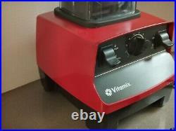 Vitamix 5200 Variable Speed Blender Red