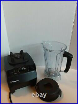 Vitamix Super 5200 Variable Speed Blender with 2 Liter Container Black Works