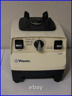 Vitamix VM0102B 6300 Variable 10 Speed Control Blender 64 Ounce