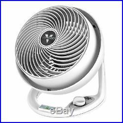 Vornado 610DC Energy Smart Efficient Variable Speed Circulator Floor Fan, White