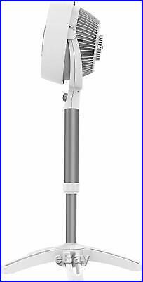 Vornado 683DC Medium Pedestal Air Circulator Fan White
