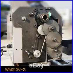 WM210V-G Metal Lathe Brushless Motor Lathe Machine Stepless Variable Speed