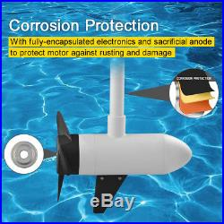 White Haswing 24V 80LBS 48 Variable Speed Bow Mount Electric Trolling Motor