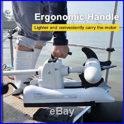 White Haswing 24v 80Lbs 60 Variable Speed Bow Mount Electric Trolling Motor